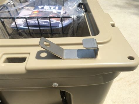 yeti cooler stainless steel lock bracket ebay