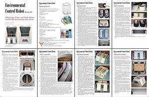 b9 robot templates With instruction leaflet template