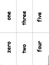 printable flashcards for bingo enchantedlearning