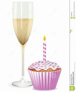 Image Champagne Anniversaire : g teau de champagne et d 39 anniversaire image libre de droits image 19884266 ~ Medecine-chirurgie-esthetiques.com Avis de Voitures