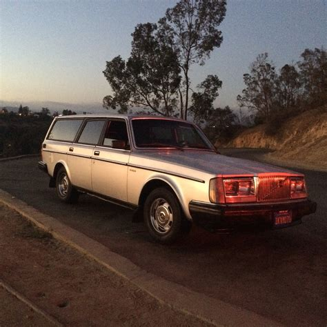 For Sale Used by For Sale 1984 240 Dl Silver Turbo Wagon Volvo
