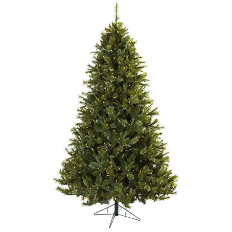 7 5 foot artificial majestic pine christmas tree clear