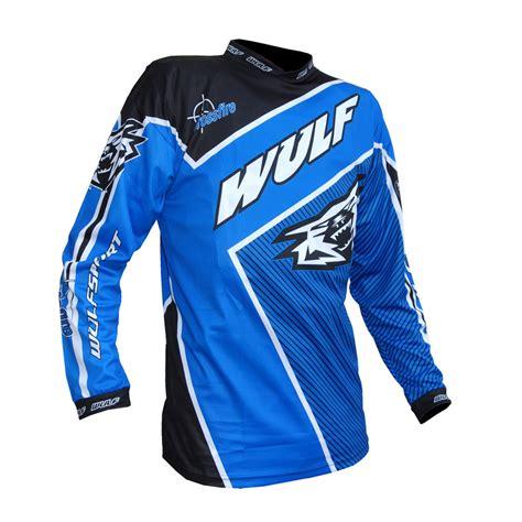 motocross gear sale uk wulfsport crossfire adults race shirt blue bikes 4 fun