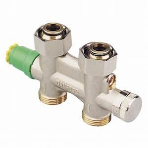 robinets de radiateur danfoss plomberiefr With robinet thermostatique seche serviette