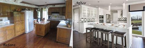 dated kitchen  modern makeover  design connection