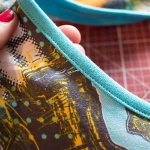 Unsichtbaren Saum Nähen : ausschnitte einfassen mit der n hmaschine n hen n hen saum n hen und overlock n hen ~ Yasmunasinghe.com Haus und Dekorationen