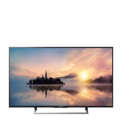 kdxe  ultra hd smart led tv sony beeldscherm en oude tv