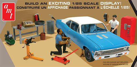 amt model kits garage accessory series set  collector