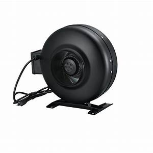 Round Channel Fan Complete With Plug For Power Outlet