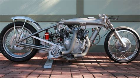Vincent Motorcycle Dragster Barn Job