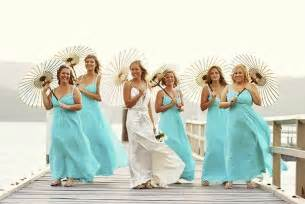 beachy bridesmaid dresses aqua blue bridesmaid dresses for wedding cherry