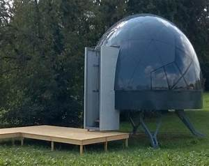 These Futuristic, Modular Dome Homes Can Be Erected On Any ...