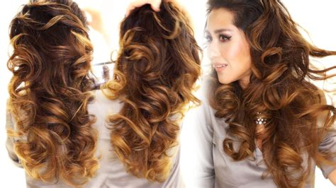 easy hairstyles for long hair without heat two ways to curl your hair overnight without heat how to