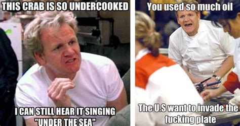 Gordon Ramsay Yelling Memes - the best chef ramsay memes that capture his endless talent for insults