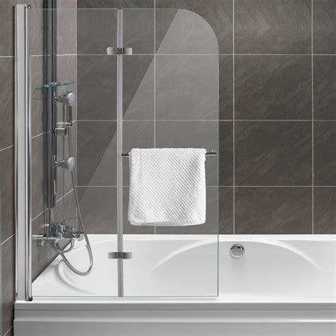 Duschabtrennung Dusche Badewannenaufsatz Faltwand