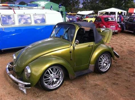 mini volkswagen beetle mini vw shortened custom bug this car is crazy and cool