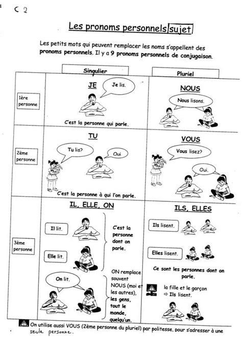 81 best images about fle les pronoms on pinterest