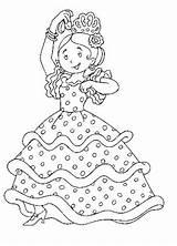 Coloring Flamenco Danse Coloriage Spain Danseuse Dance Dessin Dibujos Colorear Pintar Une Kleurplaat Danser Fille Dancer Trajes Andalucia Tipicos Sus sketch template