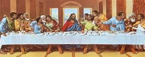 Leonardo da Vinci large picture of the last supper ...