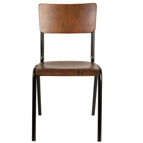 retro school chair dining chairs cuckooland