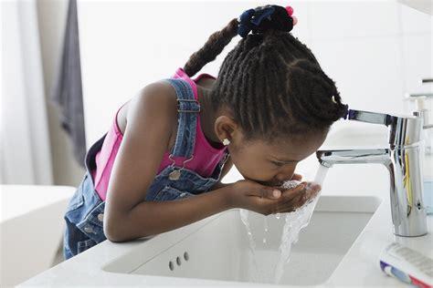 chlorine  tap water