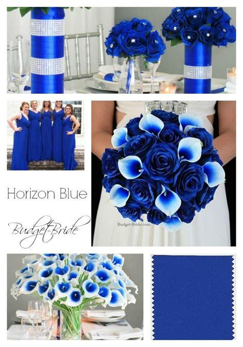 horizon blue wedding flowers blue wedding flowers