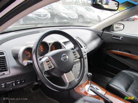 Black Interior 2006 Nissan Maxima 3.5 Sl Photo #61749257
