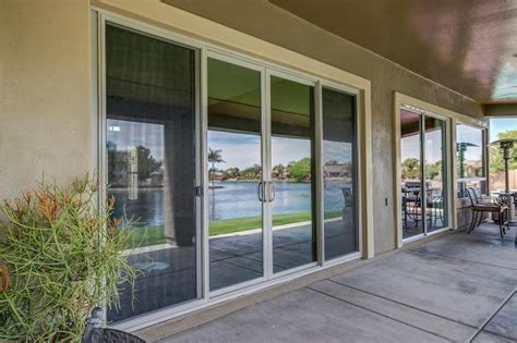 innovative  ft sliding glass door   patio  regard
