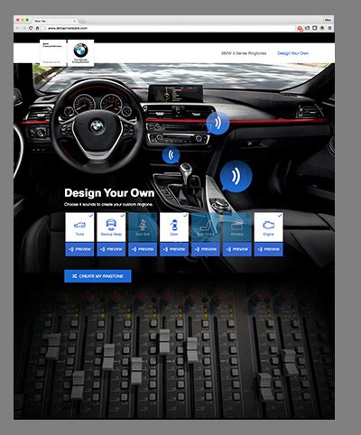 Bmw 3 Series Ringtones Microsite  Mike Governale