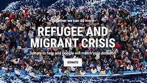 Google pledges millions to match refugee crisis donations