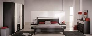 Modele De Chambre A Coucher Moderne : deco chambre coucher adulte moderne ~ Melissatoandfro.com Idées de Décoration