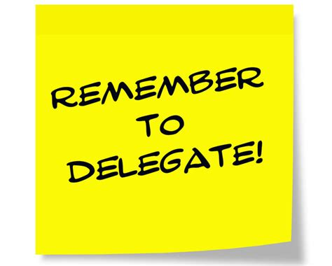 delegate responsibility   workplace