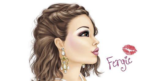 topmodel   malbuch   von fergie youtube
