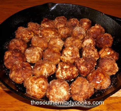 cinnamon roll biscuit bites  southern