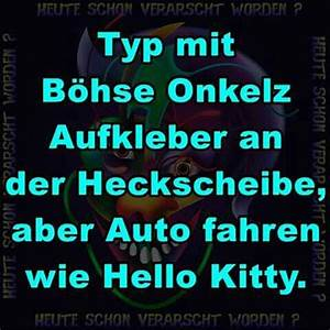 Böhse Onkelz Aufkleber : typ b hse onkelz aufkleber auto f hrt aber wie hello kitty ~ Jslefanu.com Haus und Dekorationen
