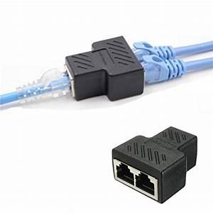 Rj45 Splitter Connector Rj