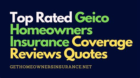 How to compare home insurance companies. Top Rated Geico Homeowners Insurance Coverage Reviews Quotes in 2020   Homeowners insurance ...