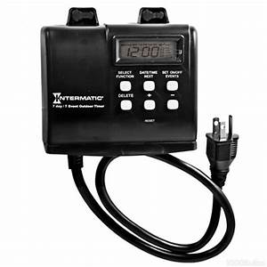 intermatic hb880r heavy duty mechanical timer With intermatic outdoor light timer not working