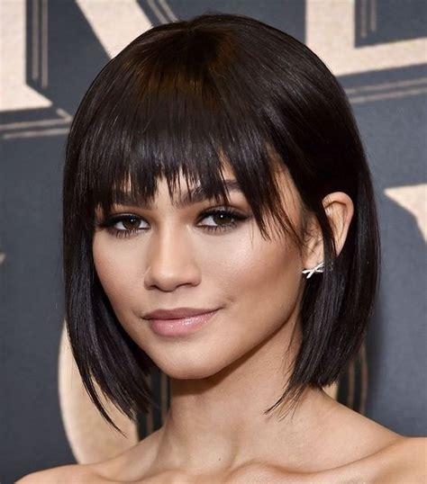 coupes courtes femmes brunes coiffure simple  facile