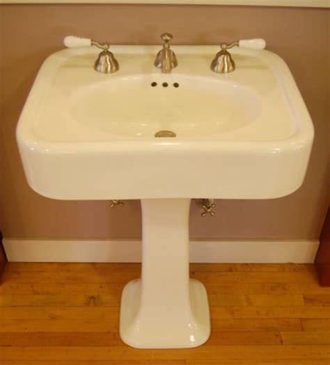 sinking in the bathtub 1930 1930s reproduction sink for a bungalow four square or