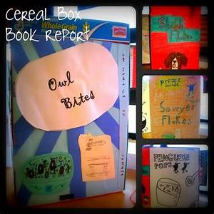 Harley  Isabelle    Cereal Box Book Reports