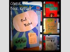 Harley, Isabelle Cereal Box Book Reports