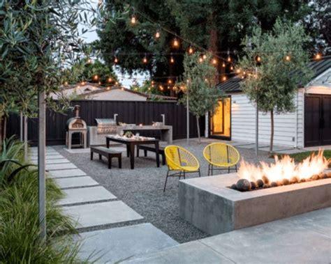 Best Backyard Patio Designs by Top 40 Best Gravel Patio Ideas Backyard Designs