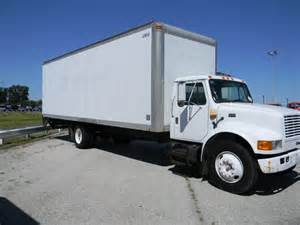 International 4700 Box Truck