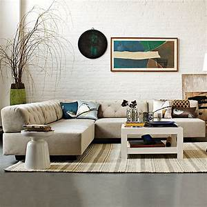 modern sectional sofas for a stylish interior With modular sectional sofa west elm
