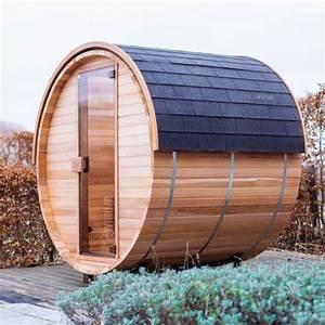 Sauna Für Garten : garten infrarotkabine saunafass lux optirelax ~ Markanthonyermac.com Haus und Dekorationen