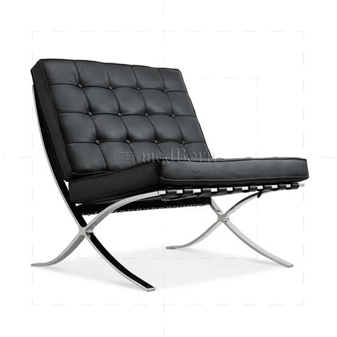 der rohe sofa ludwig mies der rohe barcelona style chair black leather