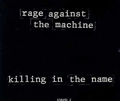 Rage Against the Machine Killing in the Name Guitar Chords