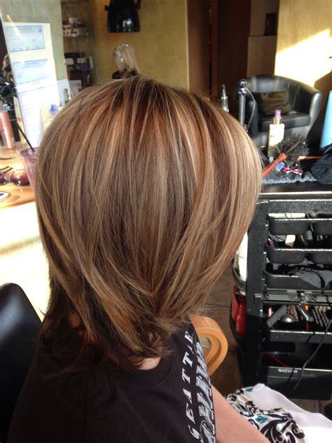 Highlights And Brown Lowlights Hairstyles by Dramatic Highlight Lowlight S Hairstyle Creations