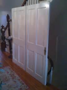 the functional of wood sliding closet doors interior
